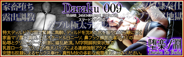 堕楽ノ淵 DarakuNoFuchi「Daraku 009」
